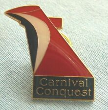 CARNIVAL CRUISE LINES CONQUEST platinum past guest VIP pin