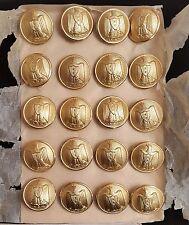 UAR Syria Egypt 1958-1962 military 20 buttons set IWW Paris made in France-RARE!