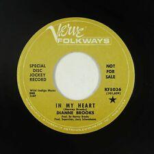 Northern Soul 45 - Dianne Brooks - In My Heart - Verve Folkways - VG+ mp3