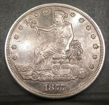 1877-S Silver Trade Dollar Stunning High Grade UNCLEANED BEAUTY!