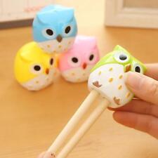 New Cute Lovely Owl Pattern Pencil Sharpener School Kid Favorite Beautiful Tool