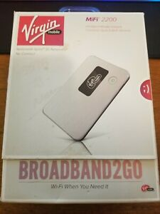 Virgin Mobile Broadband 2 Go MiFi 2200 Nationwide Sprint 3G Internet
