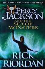 Percy Jackson and the Sea Monsters by Rick Riordan [Paperback]