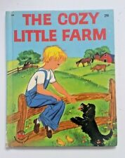 The Cozy Little Farm 1st Ed 1946 Children's Wonder Book,  Free Shipping