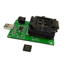 eMMC153/169 test socket USB Reader IC size 12x16mm nand flash test BGA153/169