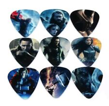 Avengers Thor Guitar Pick Set Collection Collectible Comic Movie Gift
