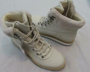 ASPEN Nomad womens size 8 stone cream water resistant hiking boots NEW
