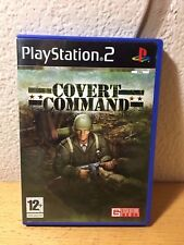 Covert Command PS2  Pal Esp. Completo