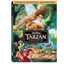 Tarzan DVD 1999 Disney 2 Disc Special Edition