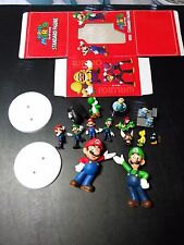 Lot of Super Mario Figures and Statues