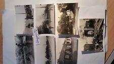 7 x Foto Polen Durchmarsch poln.Flüchtlinge,Kinder+brenn.Dörfer+Soldaten WH orig
