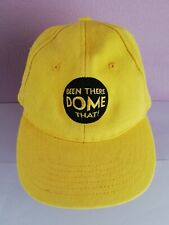 More details for been there dome that! millenium dome greenwich base ball cap 2000!! very rare!!