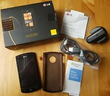 LG Optimus 7 E900 - 16GB - Black Smartphone with Accessories (Orange / EE)