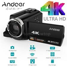 "WiFi 4K HD 48MP 3"" Touch Screen Night Shot Digital Camcorder Video Camera DV"