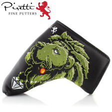 Piretti Putter Cover Tour Only Majestic Lion Green Limited model Genuine Japan
