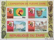 zaïre zaïrois Bloc 24 (complète edition) neuf avec gomme originale 1979 flußexpe