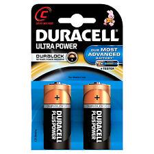 4 X Duracell Lr14 Ultra Power Alkaline MX1400 1.5v C Batteries BB 2018