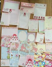 Sanrio MY MELODY Stationery / Stationary Memo LOT 30 sheets Writing Paper