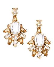 Kate Spade New York Formal Facets Earrings NWT Statement Chandelier art deco mod