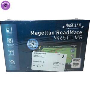 "NOS Magellan Roadmate 9465T-LMB Portable 7"" GPS Navigator Brand New Sealed Box!"