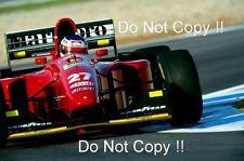 Jean Alesi Ferrari 412 T1B European Grand Prix 1994 Photograph