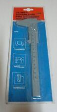 Caliper Plastic Ruler Slide Gauge - 150 mm - Metric & Imperial - New in Old Pack