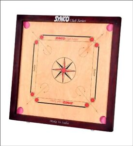"""Carrom Board SYNCO Full Size """"Water Resistant"""" with Playing Area of 29"""" X 29"""""""