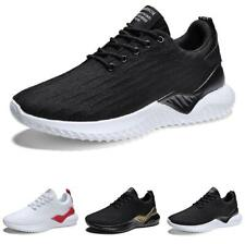 Men's Mesh Breathable Flats Outdoor Running Sport Casual Leiusre Sneakers Shoes