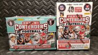 LOT OF 9 2020 Panini Contenders NFL Football Blaster Box BURROW? TUA? Herbert?