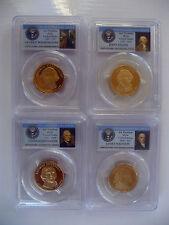 2007-S The Presidential Series 4 Coin Dollar Set PCGS PR69DCAM