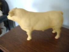 Breyer Bull Cow White Alabaster