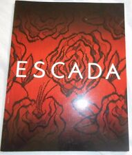 ESCADA Vintage 2002 Fashion Catalog Look Book Advertising Marketing 78 Pages
