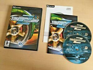 Need For Speed Underground 2 | PC CD + Product Key| FREE P&P UK