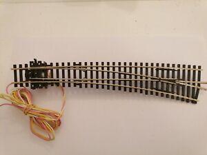 aiguillage PECO courbe a droite  code 100  + moteur PECO   état neuf