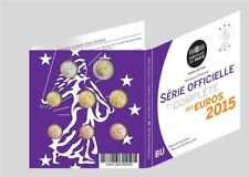 Frankrijk BU set 2015 - 1 cent t/m 2 euro - coffret BU kms France Frankreich unc
