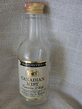 MINATURE CANADIAN MIST CANADIAN WHISKY BOTTLE