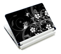 "Black Universal Laptop Sticker Decal Skin Cover Case For 14"" 15"" 15.6"" Notebook"