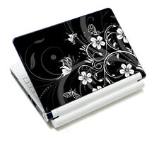 """Black Universal Laptop Sticker Decal Skin Cover Case For 14"""" 15"""" 15.6"""" Notebook"""