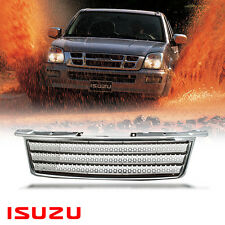 Chrome Net Grill Grille Range Rover Style DMAX Upgrade For Isuzu D-MAX 2002-2005