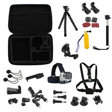 Head Chest Floating Handle Mount Accessory Bundle Kit For GoPro Hero 1/2/3+/4/5