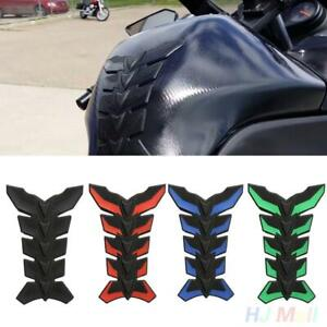 Coloured 3D Motorcycle Racing Design Tank Protector Fuel Tank Sticker Decal HH