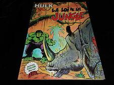 Artima Marvel color géant Hulk 9 : La loi de la jungle