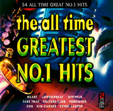 (80s & 90s) THE ALL TIME GREATEST NO 1 HITS / VARIOUS ARTISTS - 2 CD SET