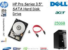 "250 Go HP Pro 3505 3.5"" SATA disque dur (disque dur) de remplacement/UPGRADE"
