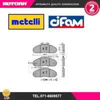 8221110 Kit pastiglie freno a disco ant (MARCA CIFAM)