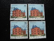 LUXEMBOURG - timbre yvert et tellier n° 1325 x4 obl (A30) stamp
