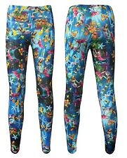 Mermaid Starfish And Creatures Of The Sea Underwater All Over Printed Leggings