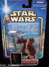 Star Wars Ataque De Los Clones. Obi-Wan Kenobi Jedi Starfighter piloto.! nuevo!