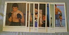 1983 Lot of 9 Dimanche Derniere Heure Boxing Photos
