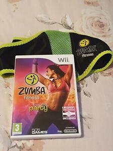 Nintendo Wii Zumba Fitness Game And Waist Belt